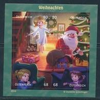 ÖSTERREICH Mi.Nr. Block 92 Comicmarken-Puzzle - Weihnachten -MNH - Blocks & Kleinbögen