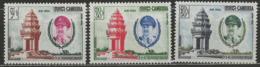 Cambodge YT PA 15-17 XX / MNH - Cambodge