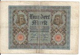 ALLEMAGNE 100 MARK 1920 VF P 69 - [ 3] 1918-1933 : Repubblica  Di Weimar