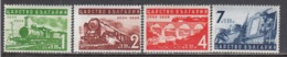 Bulgaria 1939 - Chemins De Fer Bulgares, YT 329/32, MNH** - 1909-45 Kingdom