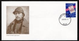 FDC / Koning Albert I / Roi Albert I / Postzegel / Dagstempel / Michel Olyff / Nieuwpoort / Dag Van De Postzegel - FDC