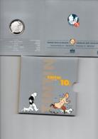 BELGIE 10 EURO 2004 ZILVER PROOF TINTIN KUIFJE - Belgique