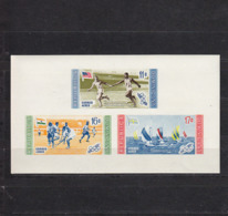 Olympics 1956 - Sailing - DOMINICA - S/S Imperf. MNH** - Sommer 1956: Melbourne