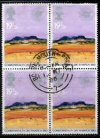ENR26B - GRAN BRETAGNA 1983 , 19 1/2 P. Quartina Usata Del 1072  (2380A) - Usati