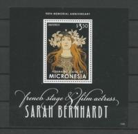 Micronesia 2013 Sarah Bernhardt S/S Y.T. BF 221 ** - Micronesia