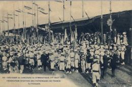 1909 FRANCIA  , T.P. NO CIRCULADA ,  FÉTES DE GYMNASTIQUE , GIMNASIA , GYMNASTICS - Gimnasia