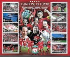 GRENADE Feuillet  N° ( 2005 ) * * Football Soccer Fussball Liverpool - Berühmte Teams