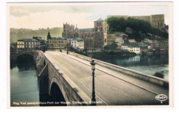 B-7407   HUY : Vue Panoramique. Pont Sur Meuse, Collegiale, Citadelle - Huy