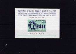 Corea Del Sur Hb 91 Con Charnela - Corea Del Sur
