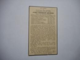 D.P.-EERW.H.JORIS GERMAIN DELAERE -PASTOOR VAN ST.AMANDS BEERNEM°HULSTE  28-5-1873+KLINIEK IZEGEM 7-3-1945 - Religión & Esoterismo