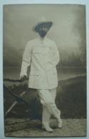 Colon Colonial En Tenue D'époque Années 1900. - Afrique