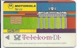 GERMANY - GSM SIM CARD - MOTOROLA - Cellulari, Carte Prepagate E Ricariche