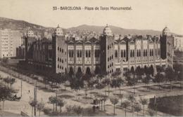 BARCELONA , PLAZA DE TOROS , BULLFIGHTING , TAUROMAQUIA , TOROS , BULLFIGHT , ARÉNES , TAUREAUX, T.P. SIN CIRCULAR - Corridas