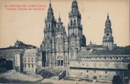 CORUÑA / SANTIAGO DE COMPOSTELA , T.P. SIN CIRCULAR , CATEDRAL , FACHADA DEL OBRADOIRO , FOTOTIPIA THOMAS - Santiago De Compostela