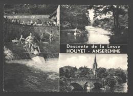 Houyet - Anseremme - Descente De La Lesse - Carte Publicitaire Multivues - Très Animée - Houyet