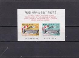 Corea Del Sur Hb 133 - Corea Del Sur