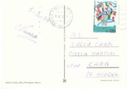1978 £120 XX GIORNATA DEL FRANCOBOLLO CARTOLINA FOLGARIA - Giornata Del Francobollo