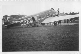 AVION FOKKER  TRIMOTEUR  PHOTO ORIGINALE FORMAT 8.50 X 5.50 CM - Aviation