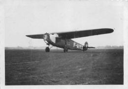 AVION FOKKER  MONOMOTEUR  PHOTO ORIGINALE FORMAT 8.50 X 5.50 CM - Aviation