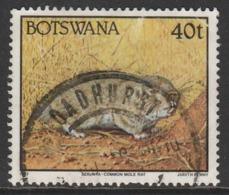 Botswana 1992 Animals  40 T Multicoloured SW 527 O Used - Botswana (1966-...)