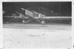 AVION COUZINET 33   PHOTO ORIGINALE FORMAT 8.50 X 5.50 CM - Aviazione