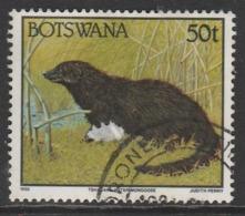 Botswana 1992 Animals  50 T Multicoloured SW 529 O Used - Botswana (1966-...)