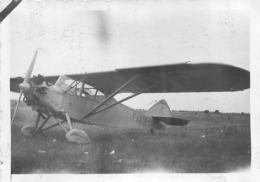AVION POTEZ 43  PHOTO ORIGINALE FORMAT 8.50 X 5.50 CM - Aviation