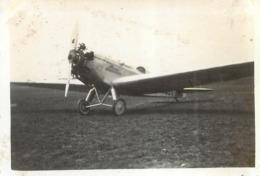 AVION KLEMM  PHOTO ORIGINALE FORMAT 8.50 X 5.50 CM - Aviation