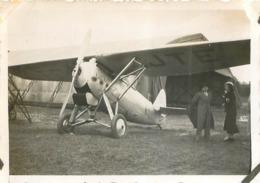 AVION DEWOITINE A DORET  PHOTO ORIGINALE FORMAT 8.50 X 5.50 CM - Aviation