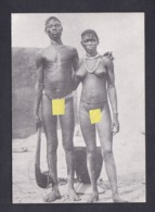 CPSM Serie Nus Exotiques Couple Bobo Bobos Burkina Faso( Nu Ethnique Femme Homme Nude  TL 500ex Imp. H.L Chalons ) - Erotik Fremder Völker