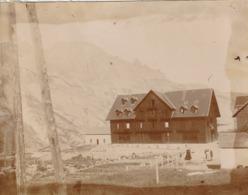 Photo Années 1900 LE LAUTARET - Un Chalet (A214) - Autres Communes