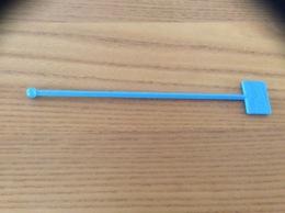 """Touilleur """"Teisseire"""" (bleu) - Swizzle Sticks"""