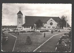 Rocherath - Kirche - Kaufhaus Servais-Rauw, Rocherath - Photo Véritable - Bullange - Buellingen