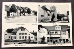 Urweiler (Saar) Mehrbildkarte Malergeschäft H. Colle - Kreis Sankt Wendel