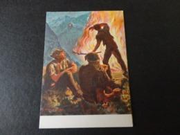 CARTE POSTALE POUR LACROIX ROUGE SUISSE - Postmark Collection