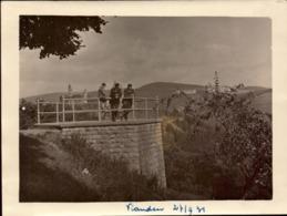 Luxembourg, Vianden, Lot De 3 Photos, 1931     (bon Etat)  Dim: 12 X 9. - Places