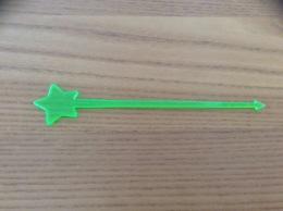 "Touilleur ""étoile"" (vert) - Roerstokjes"