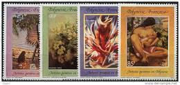 Polynésie, N° 422 à N° 425** Y Et T - Polinesia Francesa