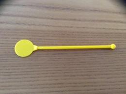 """Touilleur """"standard"""" (jaune Opaque) - Swizzle Sticks"""