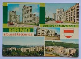 BRNO, SIDLISTE DISTRICTS KRALOVO POLE RECKOVICE 70's COAT OF ARMS - Czech Republic