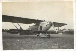 AVION HANRIOT LORRAINE PHOTO ORIGINALE FORMAT 8.50 X 6 CM - Aviation
