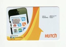 SRI LANKA Hutch GSM SIM MINT - Sri Lanka (Ceylon)