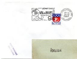 VAL De MARNE - Dépt N° 94 VITRY Sur SEINE Ppal 1966 = FLAMME Codée = SECAP  ' N° De CODE POSTAL / PENSEZ-Y ' - Postleitzahl