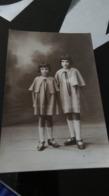 CP -  CARTE PHOTO - Deux Jeunes Soeurs - Portraits