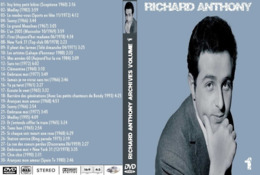 DVD RICHARD ANTHONY BEST OF VOL 1 - Conciertos Y Música
