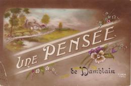 Vosges : DAMBLAIN : Une Pensée De Damblain : - Other Municipalities