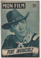 REVUE CINEMA MON FILM FORT INVINCIBLE AVEC GREGORY PECK N° 295 1952 - Cinéma
