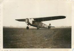 AVION FOKKER  PHOTO ORIGINALE FORMAT 8.50 X 6 CM - Aviation