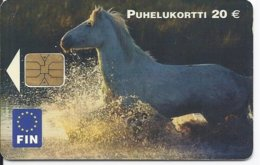 FINLAND - HORSE - 20.000 EX - Finlande