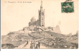 L100d007 - Marseille - Notre Dame De La Garde - N°13 - Petite Animation - Notre-Dame De La Garde, Lift